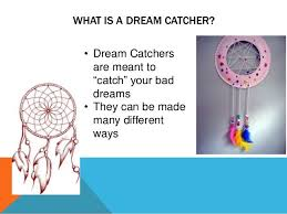 Dream Catcher Lesson Plan