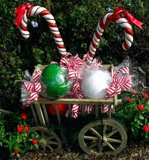 Outdoor Christmas Candy Cane Decorations candy cane yard decorations smarthalyava 28