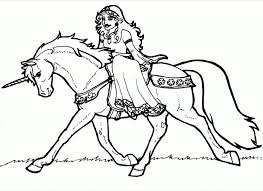 This article includes some of the outstanding unicorn this coloring sheet features kirin, an asian unicorn. Unicorn And Princess Coloring Pages Coloring Home