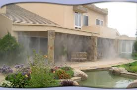 Misting Systems U0026 Misting Fans By Leading US Manufacturer  Mist Backyard Misting Systems
