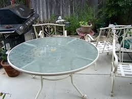 spray paint patio furniture glitter and goat cheese spray painted metal outdoor