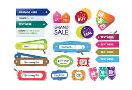Label Design Free Various Stylish Colorful Label Stickers Vector Free Download