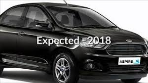2018 ford aspire. delighful 2018 ford aspire facelift  sedan launch on 2018 in ford aspire