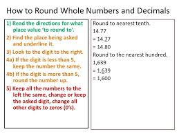 Math Worksheets For Grade 5 Rounding Decimals Core Focus On ...