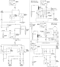 ford bronco and f 150 links alternator charge indicator wiring diagram in 87 89 f series