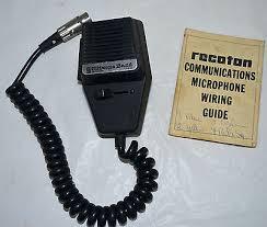 1970 s cb radio mic microphone citizens band model recoton cb162 1970 s cb radio mic microphone citizens band model recoton cb162