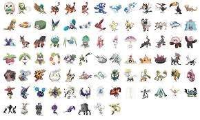 Pokemon Go Evolution Chart Of All Generations Complete List