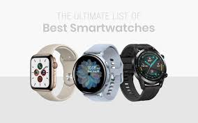 Android Watch Comparison Chart Best Smartwatches In Dec 2019 The Ultimate List Of