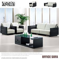 leather office couch. Get Quotations · Ying Italian Office Furniture Modern Fashion Business Combination Leather Sofa Reception Parlor Couch E