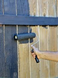 Painted Fences fence painting and staining guide quick tips hgtv 6272 by xevi.us