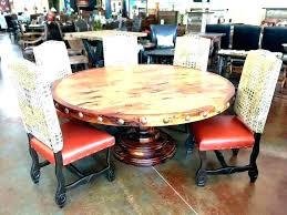 round farmhouse dining table large rustic round dining table rustic round table rustic round dining table