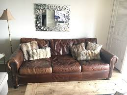restoration hardware leather couch. Restoration Hardware Lancaster Leather Sofa In DuPage County Regarding Plans 8 Couch A