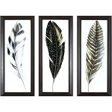 wall arts feather wall art shop decor therapy framed watercolor feathers set pack of 3 hobby on framed feather wall art hobby lobby with wall arts feather wall art peacock feather wall art sticker