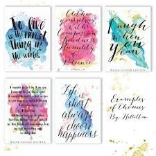 Custom Quote Prints Quotes Custom quote print quote prints Love quote print 9