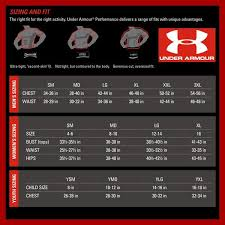 Nike Under Armour Sizing Charts Northstar Apparel
