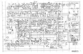 cherokee cbs 2100 service manual main pcb schematic diagram