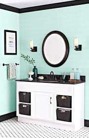 mint green bathroom paint paint gives a dated vanity a second life for far less than