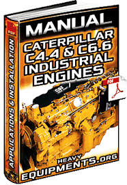 heavy equipment manuals courses catalogs videos caterpillar caterpillar c4 4 c6 6 engines manual