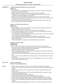 Regional Hr Manager Resume Samples | Velvet Jobs
