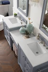 Bathrooms with two vanities separated by makeup area bing images. Copper Cove Encore 86 Double Bathroom Vanity