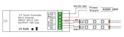 v a ct adjustable led dimmer controller com wiring diagram 1 of ct led controller