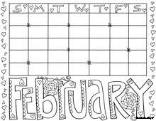 Small Picture Enjoy some Calendar Coloring pages These are great for students