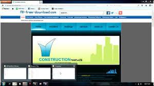 visual studio 2010 website templates creating a website from template using visual studio youtube