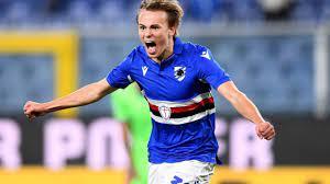 Sampdoria's Mikkel Damsgaard On Inter Links: