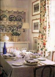 Image Cottage Style Published October 1992 Issue Of House Beautiful Home Of Barrie Mcintyre Who Moved To Pinterest 158 Best Country Cottage Diningroom Images Dining Room Lunch