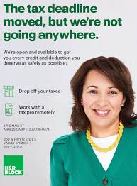 To complete the form, you have to provide the following information The Tax Deadline Moved But H R Block Is Always Ready To Serve The Pine Tree