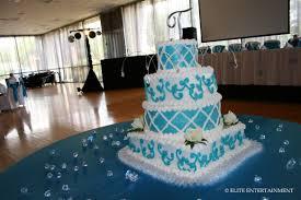 Turquoise And White Wedding Decorations White Elite Entertainment Elite Bridal
