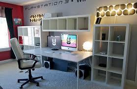 ikea home office galant desktop amazing home office setups