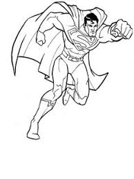 Small Picture The New Adventures of Superman Coloring Page Trace Pinterest