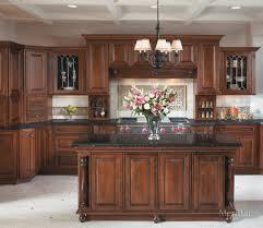 Merillat Kitchen Cabinets Merillat Masterpiecer Caliseo In Cherry Chocolate With Ebony Glaze