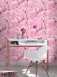 Pink Damask Wallpaper Bedroom Rasch Pink Flamingo Wallpaper 277890