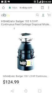 Garbage Disposal Comparison Chart Badger Garbage Disposal Warranty Saltcityphoto