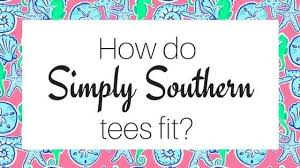 Simply Southern Size Chart Youth How Do Simply Southern Shirts Fit Gliks