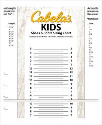 Men S Foot Size Chart Printable Printable Shoe Size Chart 9 Free Pdf Documents Download