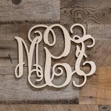 vine monogram