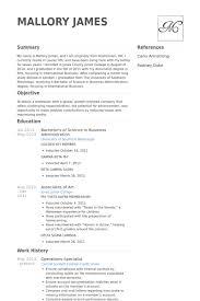 Operations Specialist Resume Samples Visualcv Resume Samples Database