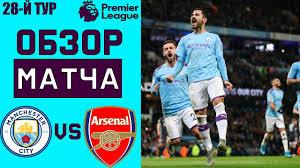 Манчестер Сити - Арсенал Обзор Матча АПЛ 17.06.2020 - YouTube
