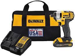 Dewalt 20v Max Impact Driver Kit 1 4 Inch Dcf885c1