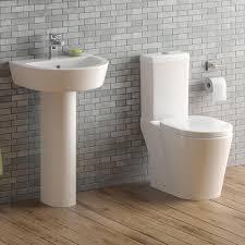modern white wc toilet cistern set pedestal basin sink bathroom suite cs20 ibathuk co uk kitchen home