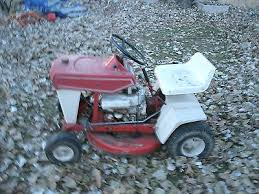 old small riding lawn mower. vintage rugg 8hp riding lawn mower old small riding lawn mower r