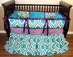 image of poetic peacock crib bedding set room ideas purple and teal baby images target