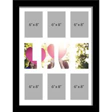 description large multi picture photo aperture frame