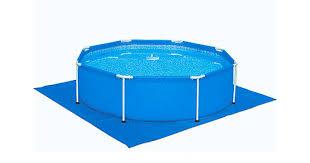 <b>Bestway 58001</b>, <b>подстилка</b> для бассейнов квадратная, 70 г/м2 ...