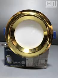 Đèn LED âm trần Nano Gold 7W TLC – Đèn Trang Trí Bình Dương