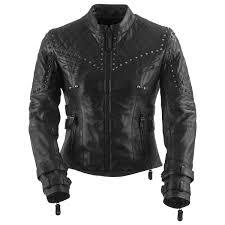 black brand womens brazilian waxed leather jacket
