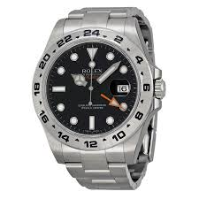 rolex explorer ii black dial stainless steel rolex oyster rolex explorer ii black dial stainless steel rolex oyster automatic men s watch 216570bkso